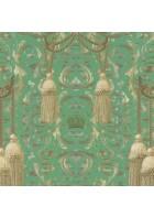 Marburg Vliestapete La Vida 52706 Barockdesign (Grün)