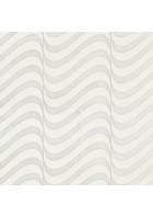 Marburg Vliestapete La Vida 56002 Wellen (Weiß/Silber)