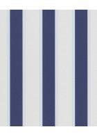 3er Streifentapeten Set PANELS 51539 (Blau/Weiß)