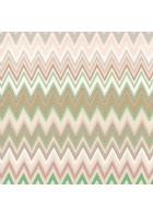 Missoni Home Tap. Zig Zag Multicolore M1A10065 (Grün/Braun)