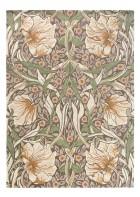 Morris & Co. Designerteppich Pimpernel - Aubergine