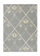 Morris & Co. Schurwollteppich Pure Trellis - Lightish grey
