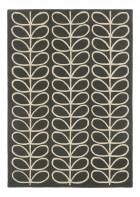 Orla Kiely Designerteppich Linear Stem Slate - Grau