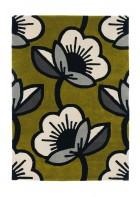 Orla Kiely Designerteppich Passion Flower Olive - Olive