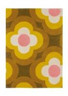 Orla Kiely Designerteppich Pulse Yellow - Yellow