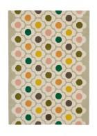 Orla Kiely Designerteppich Spot Flower Multi - Bunt