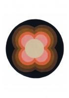 Orla Kiely Designerteppich Sunflower Pink - Pink