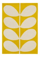 Orlay Kiely Designerteppich Yellow Stem - Gelb
