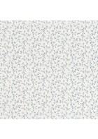 Rasch Textil Tapete 288710 Petite Fleur 4 - Blumenranken (Weiß/Blau)