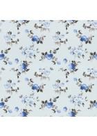 Rasch Textil Tapete 288727 Petite Fleur 4 - Rosenmuster (Blau)