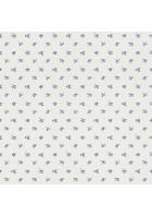 Rasch Textil Tapete 288734 Petite Fleur 4 - Punkte und Blüten (Weiß/Blau)
