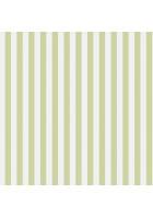 Rasch Textil Tapete 289106 Petite Fleur 4 - Streifenmuster (Weiß/Grün)