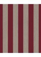 Rasch Textil Tapete Nubia 085005 - Streifentapete (Rot)