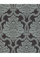 Rasch Textil Tapete Nubia 085258 - Ornamentmotiv (Schwarz)
