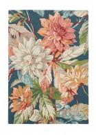 Sanderson Teppich Dahlia&Roseship 50608 - Teal