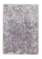 Hochflor Teppich Harmony 70x140cm - Einzelstück (Silber)