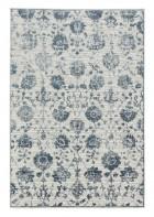 Schöner Wohnen Teppich Brilliance 80x150cm - Blumen - EINZELSTÜCK (Blau)