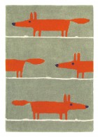 Teppich Mr Fox - Beige