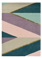 Ted Baker Schurwoll Teppich Sahara - Pink