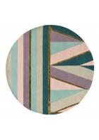 Ted Baker Schurwoll Teppich Sahara - Rund - Pink