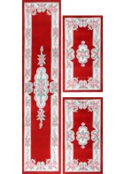 Aubusson Design Bettumrandung Ming 501 - Rot