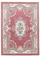 Aubusson Design Teppich Ming 501 - Rose