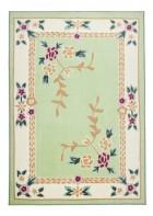 Aubusson Design Teppich Versailles 8068 - Grün