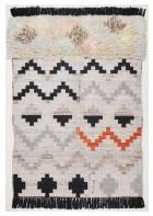 Berber Teppich Nomadic Design 3960 - Grau Multi