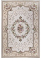 Klassischer Bordürenteppich Florentina - Beige