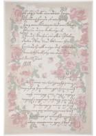 Romantischer Teppich Flomi Paris - Rose