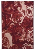Romantischer Teppich Flomi Paris - Rot
