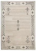 Royal Berber Teppich Bordüre - meliert - Beige
