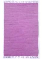 Teppich Läufer Happy Cotton Uni - Lila