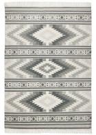 Ethno Teppich - Kelim Colors I - Grau