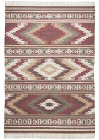 Ethno Teppich - Kelim Colors I - Rot
