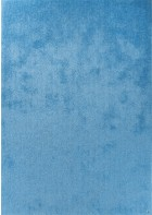 Hochflor Teppich - Soft Uni - Light Blue
