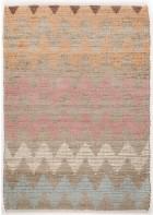 Teppich Smooth Comfort - Pastel Zigzag