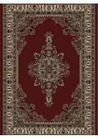 Bordürenteppich Marrakesh - Kreuzornament - (Rot)