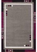 Bordürenteppich Pisa - Cube - (Grau)