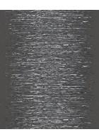 Streifentapete 3D 4492 (Schwarz/Silber)