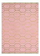 Retro Teppich Arris - Pink