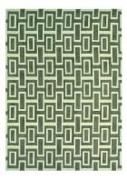 Retro Teppich Intaglio - Grau