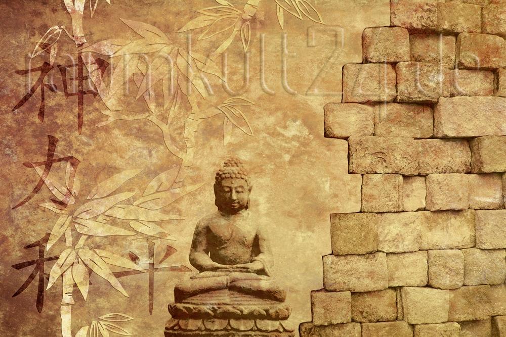 Ap Xxl2 Buddha Im Sk Folie Von Architects Paper Raumkult24 De