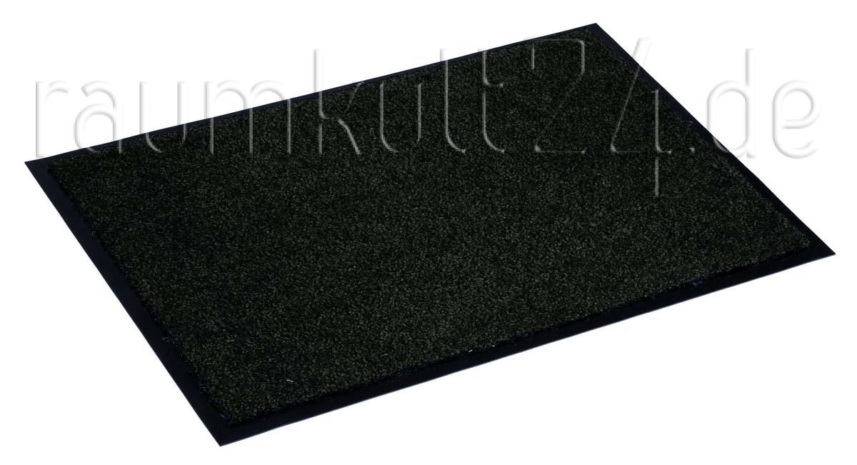 marke astra sauberlaufmatte proper tex uni schwarz. Black Bedroom Furniture Sets. Home Design Ideas