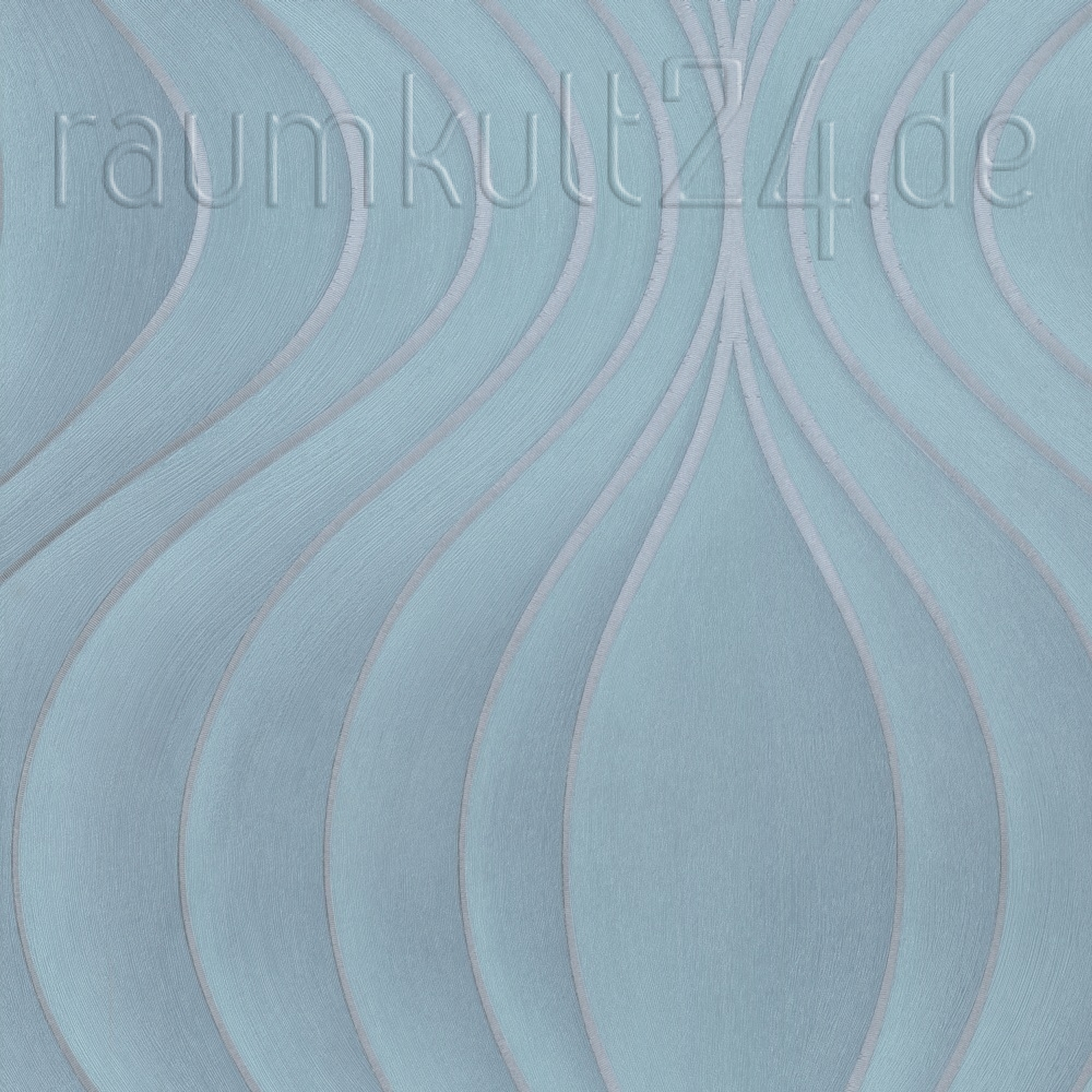 tapeten blau elegant tapete mento blau with tapeten blau. Black Bedroom Furniture Sets. Home Design Ideas