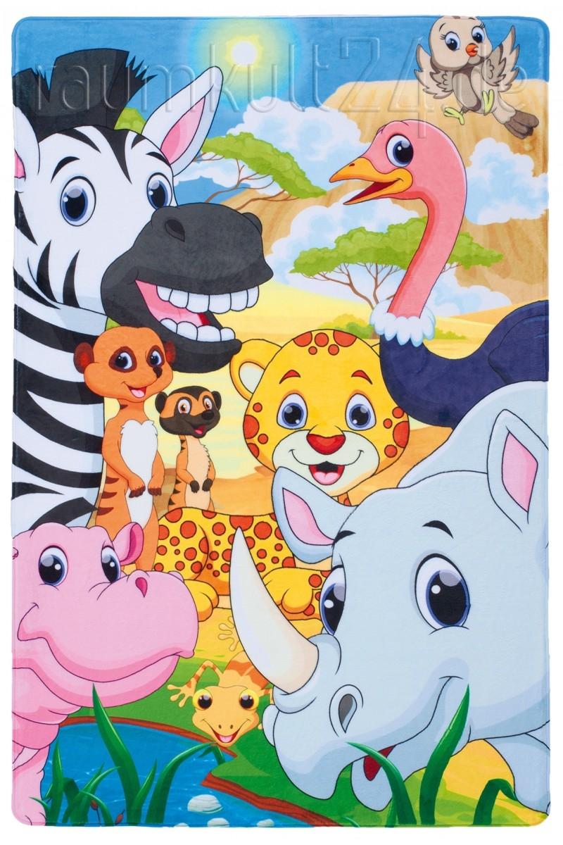 Marke Obsession - Safari Kinderteppich - Savannah ...