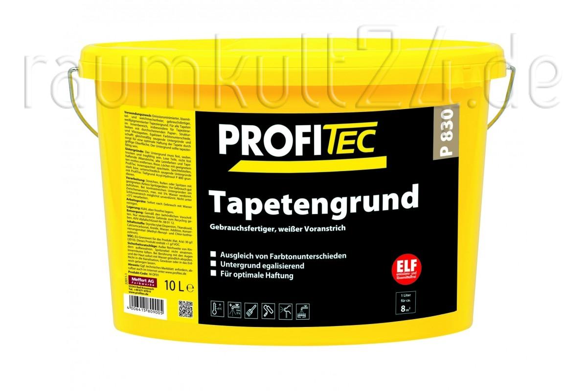marke profitec - p830 tapetengrund - weiß - raumkult24.de