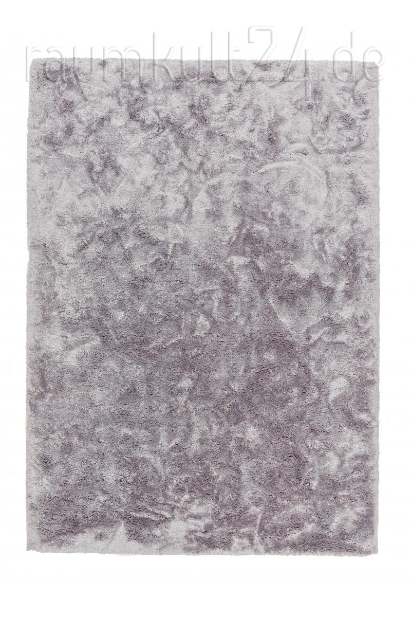 marke schÖner wohnen - hochflor teppich harmony - - silber