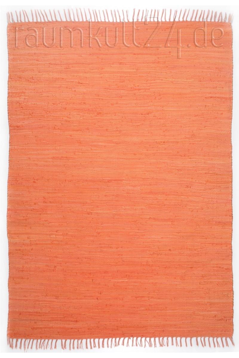 Marke Theko Die Markenteppiche Teppich Läufer Happy Cotton Uni