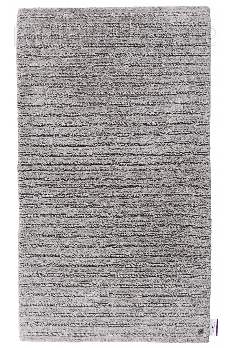 Marke TOM TAILOR - Tom Tailor Badezimmerteppich Cotton Stripe - Grau ...